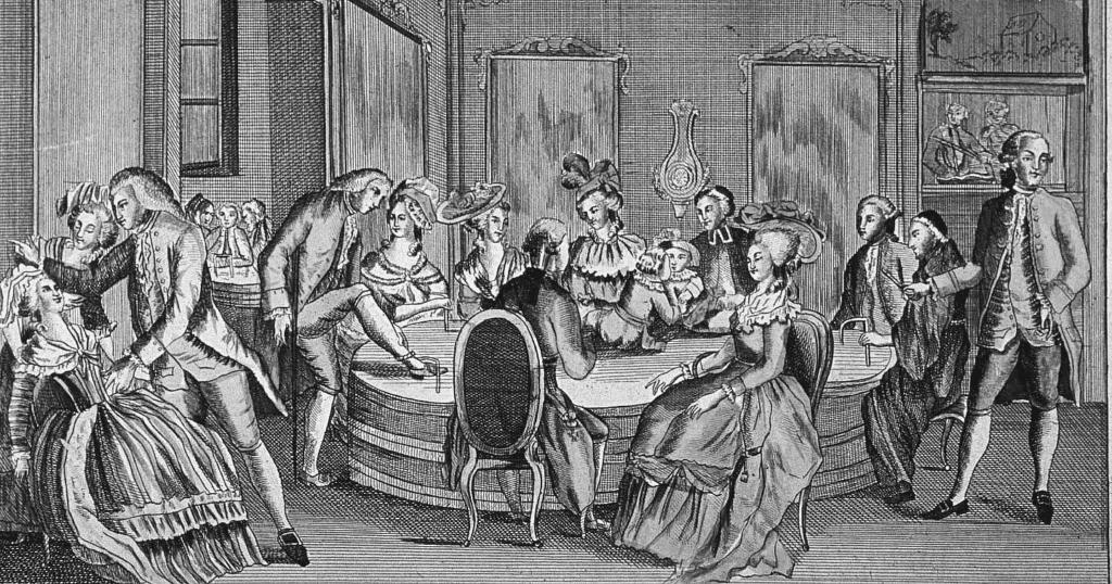 Anton Mesmer - Illustration historique - Hypnose, sophrologie